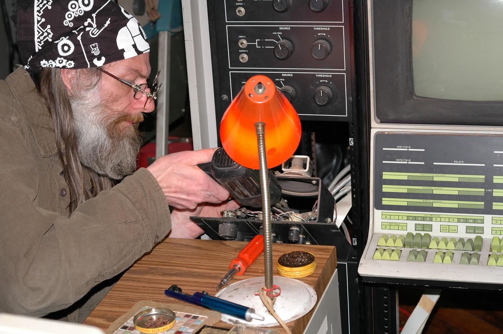 Repairing a pdp-12