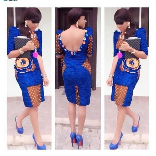 KaKKi: Chitenge Design Alert: Backless Chitenge Outfits