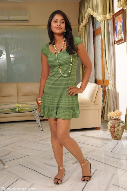 All Stars Photo Site Bindu Madhvi Green Mini Skirt Spicy -4393