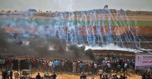 Protestos em Gaza por mudança da embaixada dos EUA deixam mais de 20 mortos