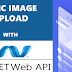 Uploading image in Ionic application with ASP.Net Web API