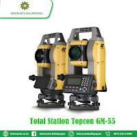 JUAL TOTAL STATION TOPCON GM-55 TARAKAN | HARGA SPESIFIKASI | GARANSI RESMI | FREE TRAINING