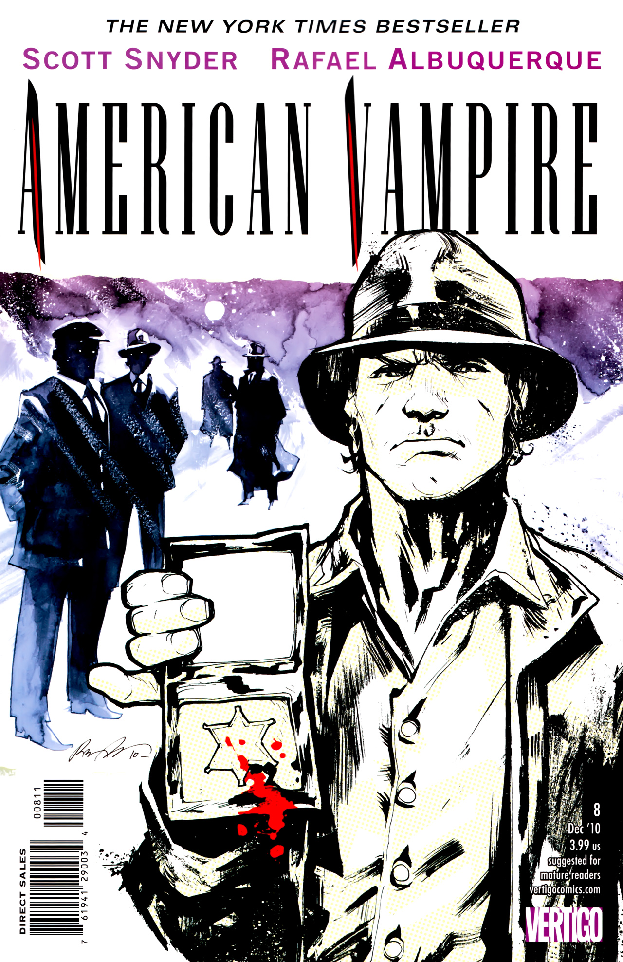 Read online American Vampire comic -  Issue #8 - 1