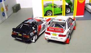 Mitsubishi Starion Lancer Evo cm's