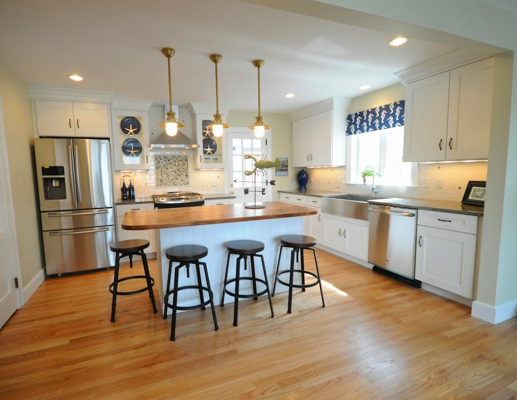 SoPo Cottage: Before And After: The Open Floor Plan
