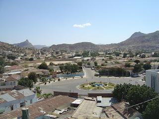 La ville de Keren
