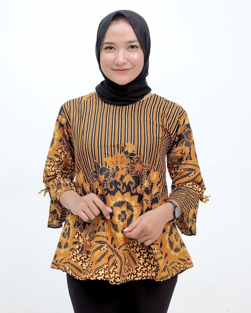 Model Batik Atasan Muslim