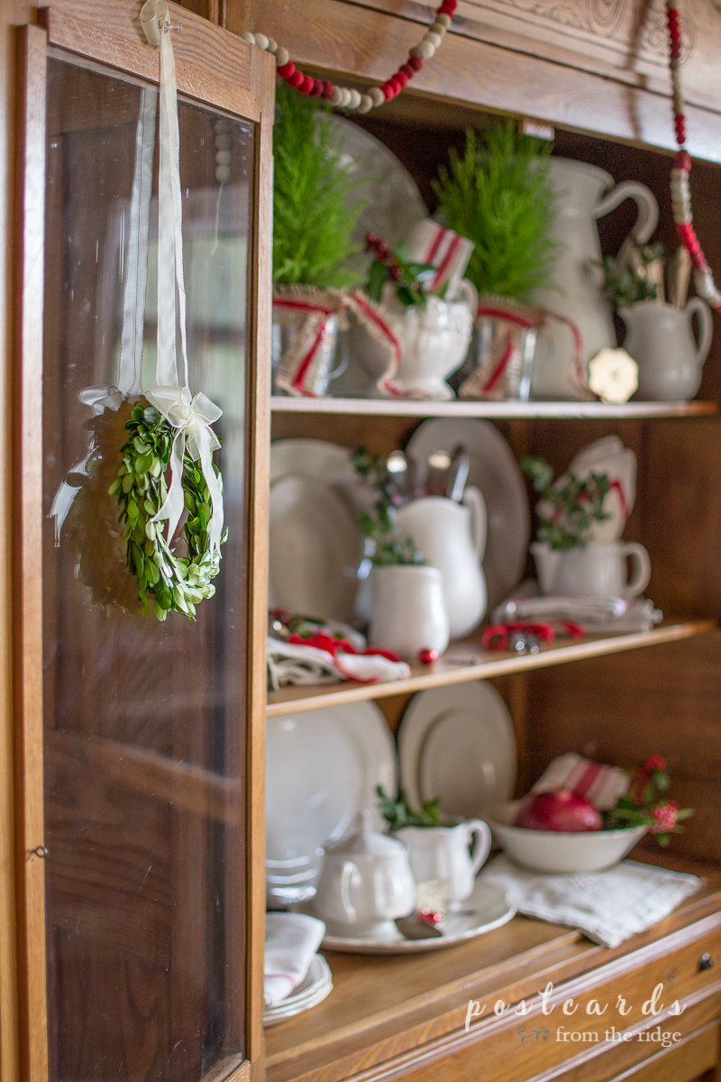 Farmhouse style Christmas ideas