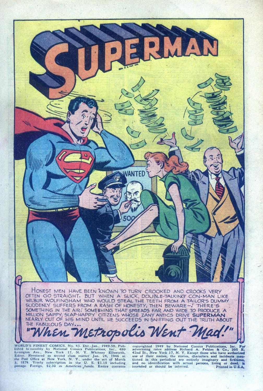 Read online World's Finest Comics comic -  Issue #43 - 3