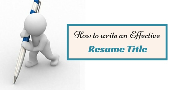 how to make effective resume