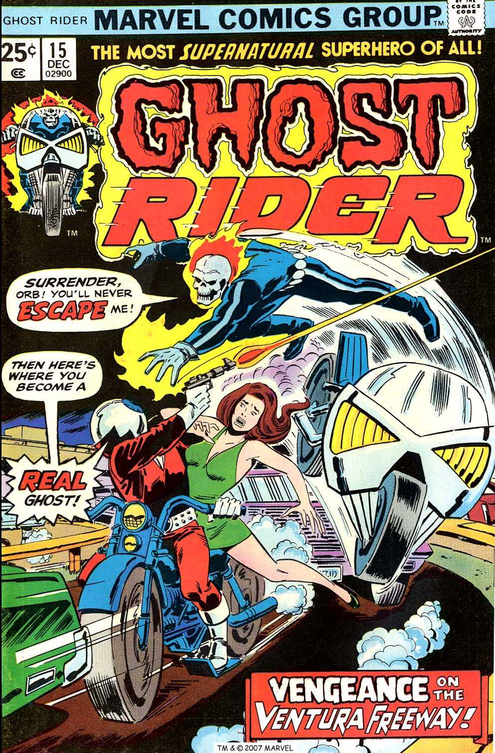 Ghost Rider (1973) Issue #15 #15 - English 1