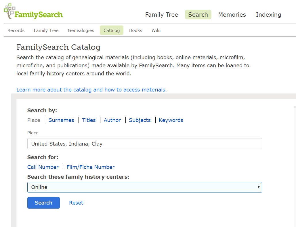 you can also search historical records by location as you scroll through the available collections the first section includes collections which have been