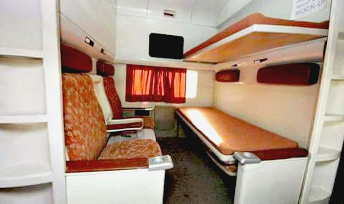 Luxurious Make In India New Train Coaches By Indian