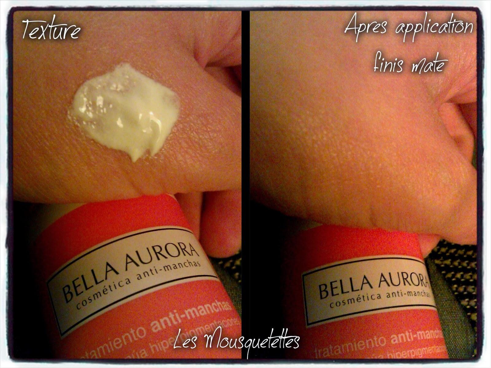 Finis mate Fluide Solaire Bella Aurora - Les Mousquetettes©