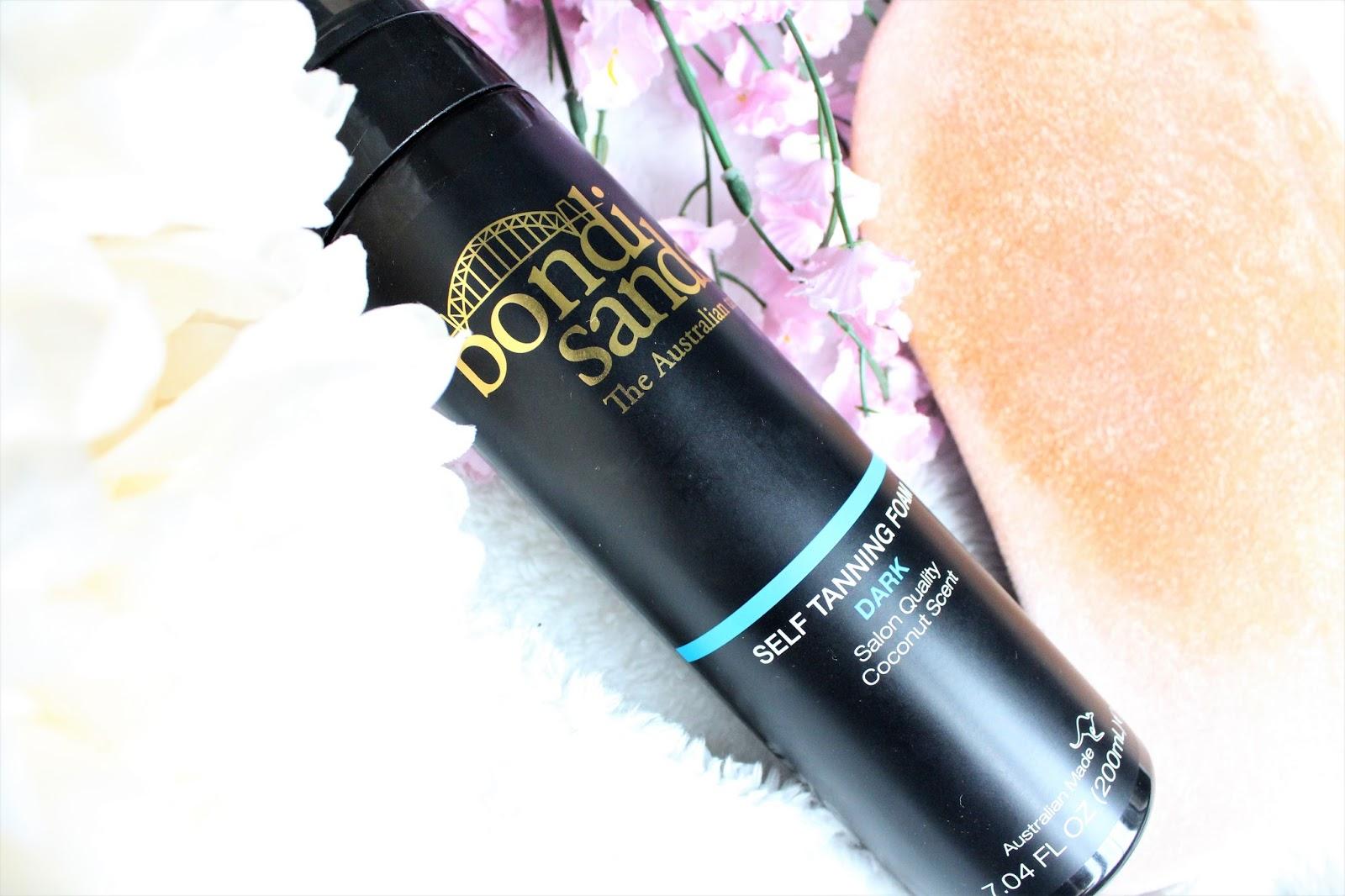 bondi sands dark tanning foam review