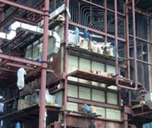Pekerjaan Pasang Fire Brick & Castable di Boiler Turbin Generator