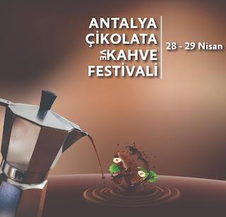 antalya çikolata ve kahve festivali
