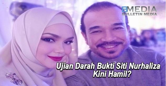 Ujian Darah Bukti Siti Nurhaliza Kini Hamil?