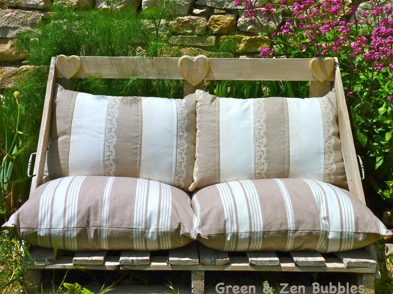 green zen bubbles canap d 39 ext rieur en r cup 39. Black Bedroom Furniture Sets. Home Design Ideas