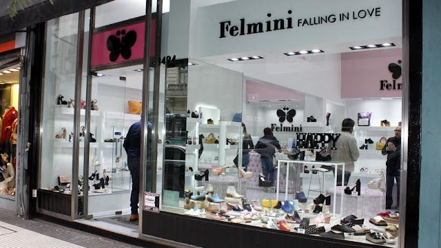 Felmini inauguró su local con toda la tendencia en zapatos y carteras