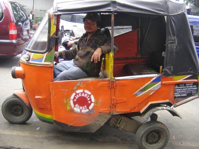 Bajaj en Yakarta