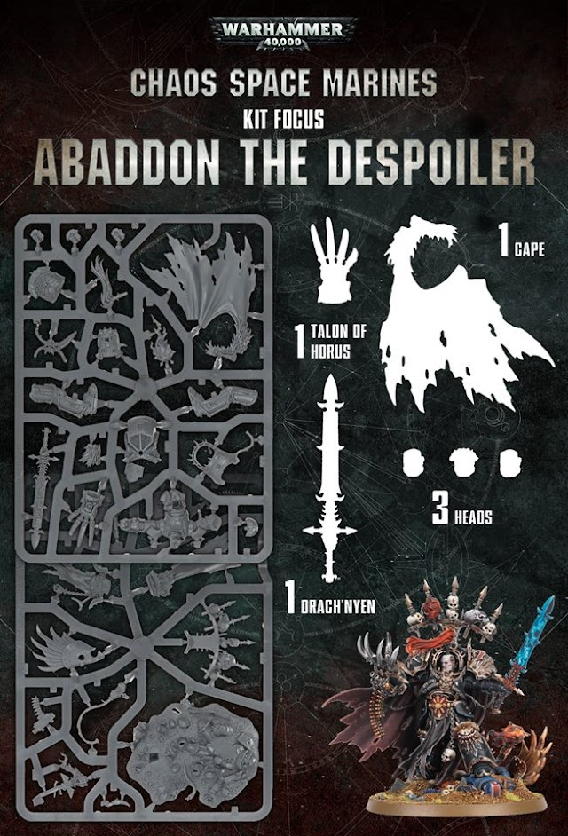 Abaddon the Despoilers Kit... A look at the sprues.