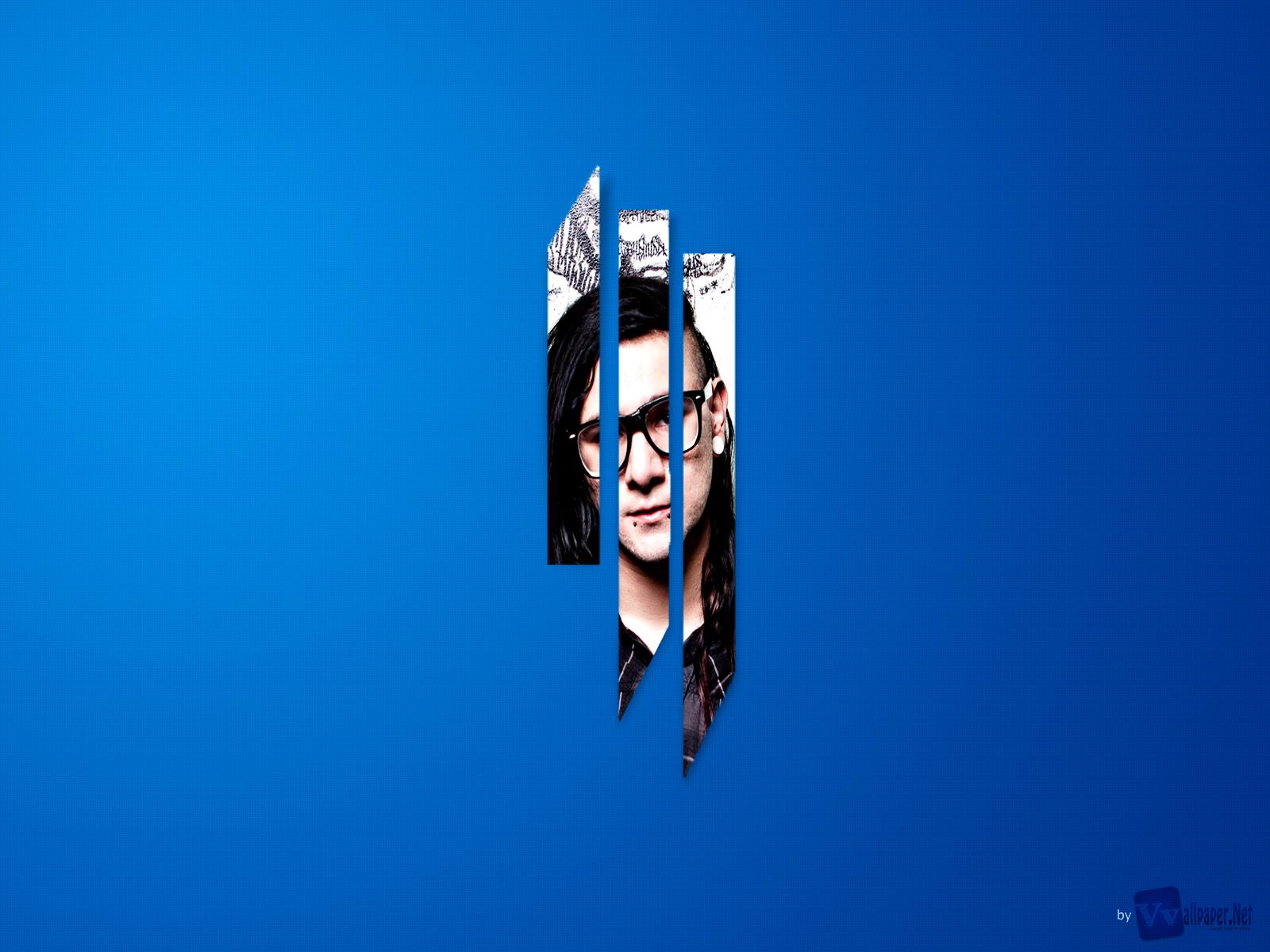 Dj Skrillex 3D Logo HD Music Wallpapers