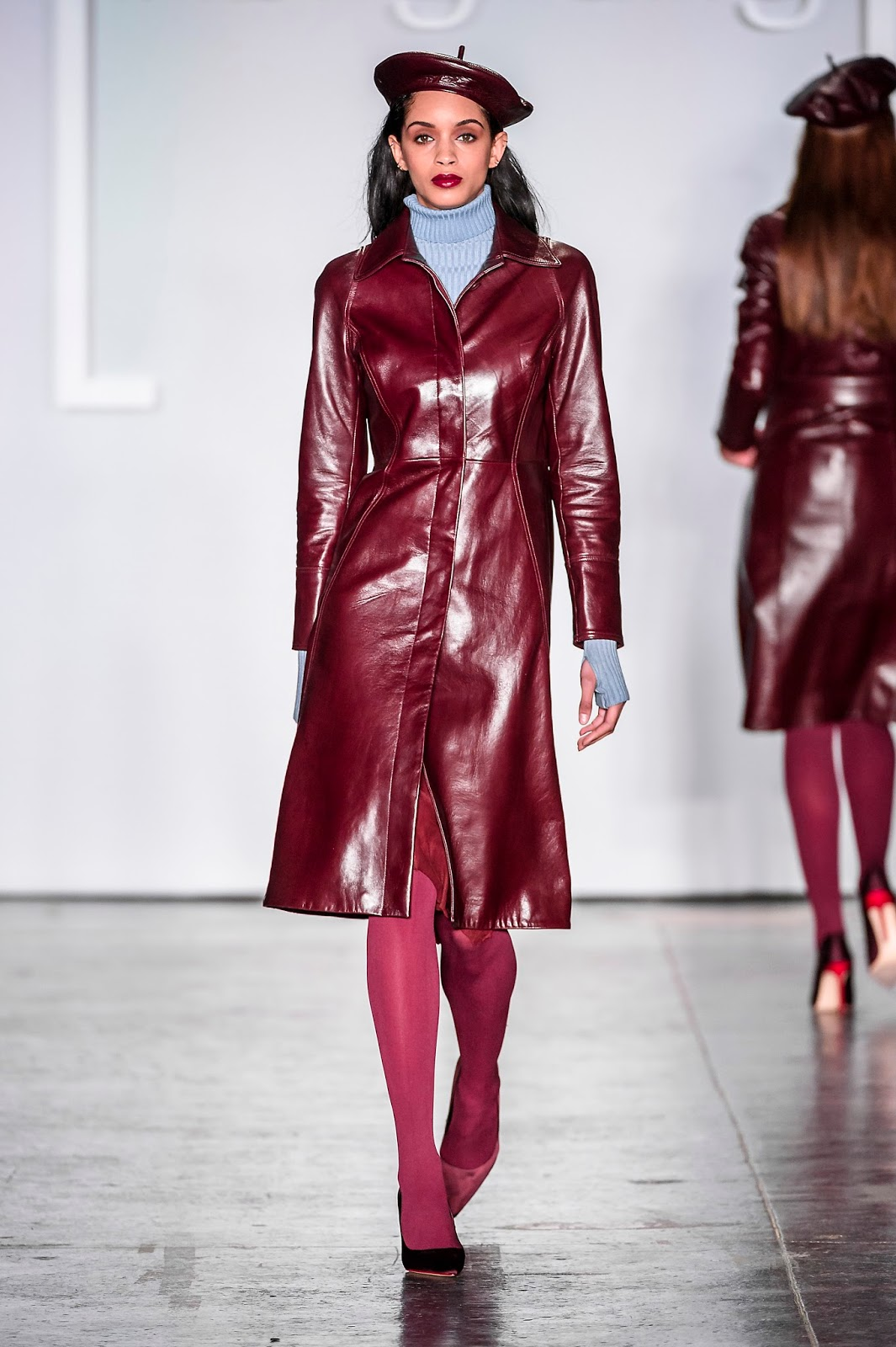 Fashion Hong Kong Fall-Winter-Mariestilo-NYFW Febrero2018-color block coat