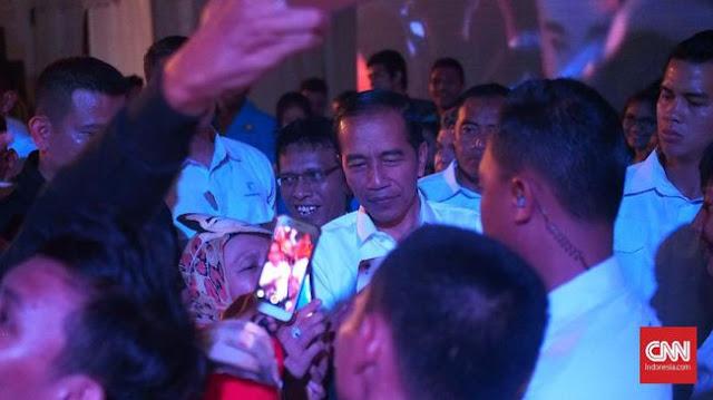 Jokowi Akui Isu PKI Biang Kekalahan Pilpres 2014 di Bogor