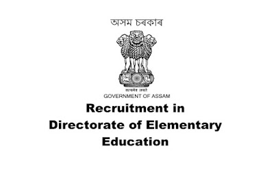 Junior Assistant/ Statistical Assistant/ Computor Recruitment in Directorate of Elementary Education, Assam. Online Apply. Last Date:30.03.2019