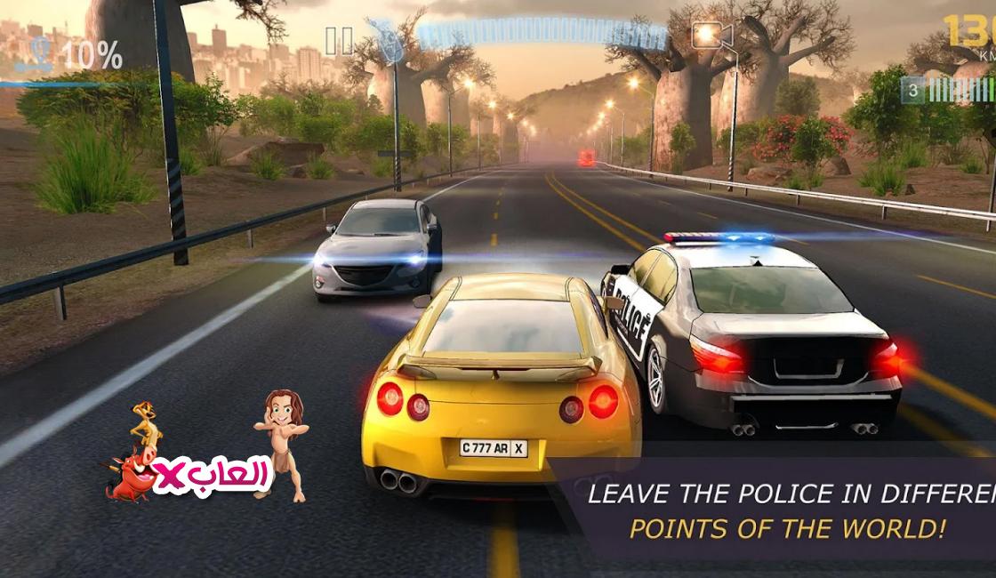 لعبة CarX Highway مهكرة