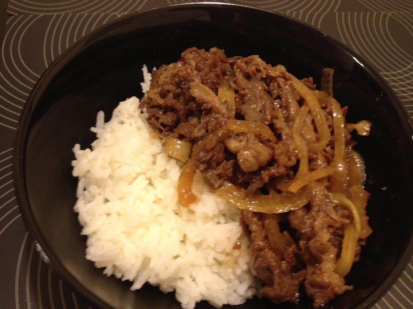 三色貓生活誌: [食譜]超簡單的日式牛肉飯