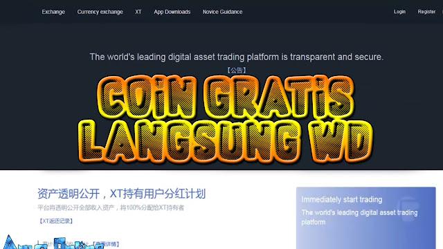 Exchanger Baru Bagi-bagi Coin Gratis Bisa Langsung di WD?