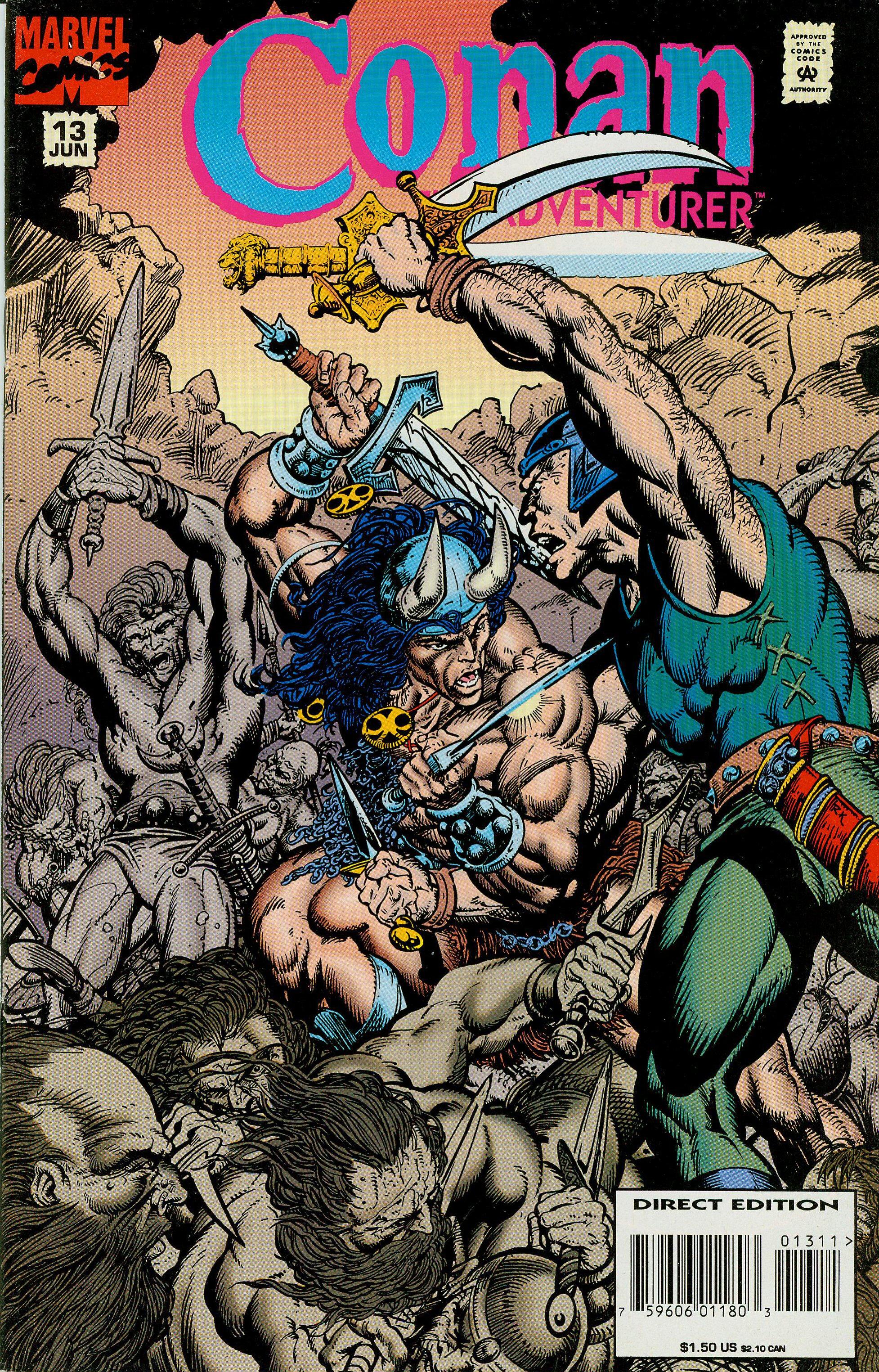 Read online Conan the Adventurer comic -  Issue #13 - 3