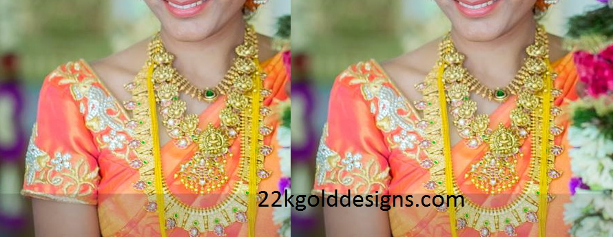 Bride in Traditional Gold Jewellery