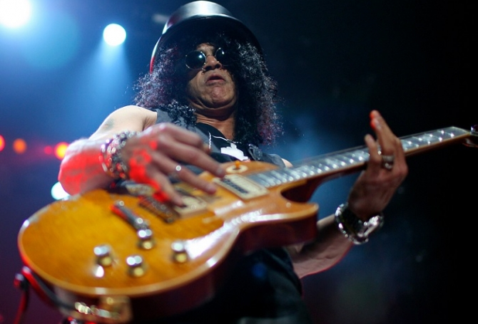 "Slash se unió al elenco de ""School of Rock"""