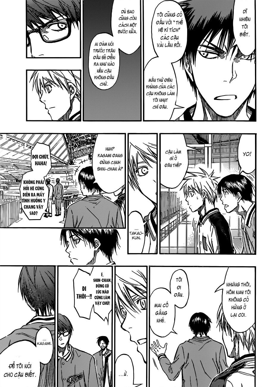 Kuroko No Basket chap 203 trang 18