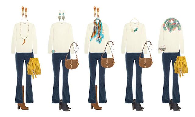Комплекты гардероба Boho Project 333 с аксессуарами