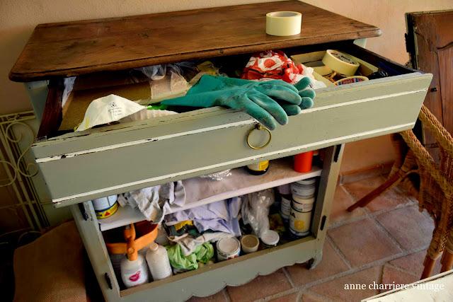 www.annecharriere.com, mi taller, bricolaje, pintura,