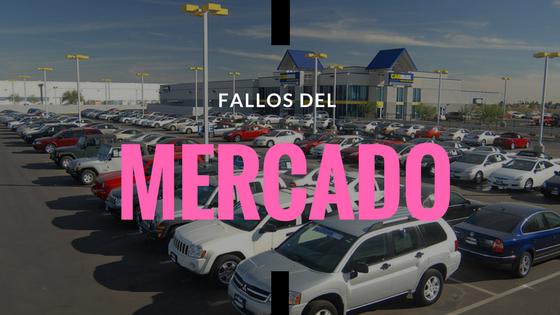 fallos del mercado en autos usados