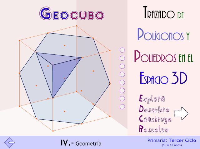 GeoCubo. Trazados 3D