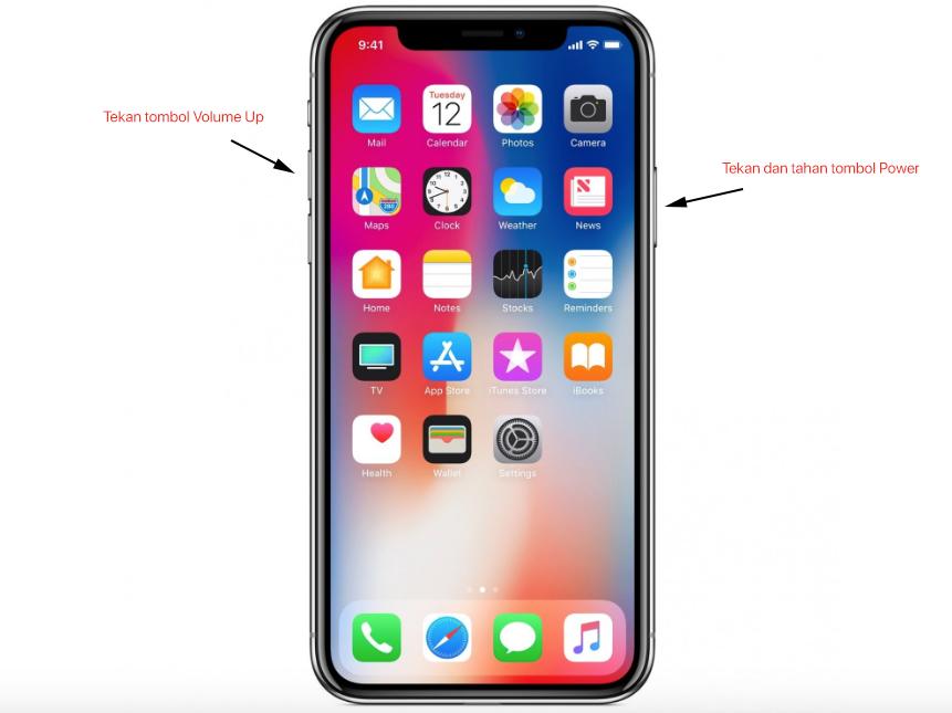 Cara Mengambil Gambar (Screenshot) di layar iPhone, iPad dan iPod touch
