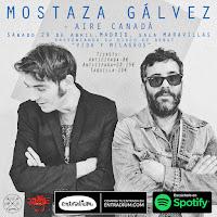 Concierto de Mostaza Gálvez y Aire Canadá en Maravillas Club