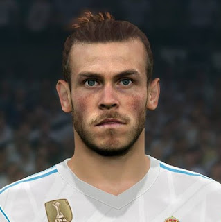 PES 2017 Faces Gareth Bale by Sameh Momen