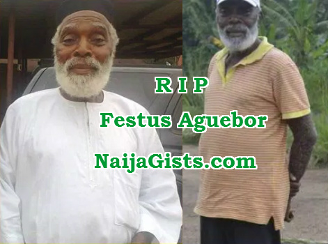 Festus Aguebor dead
