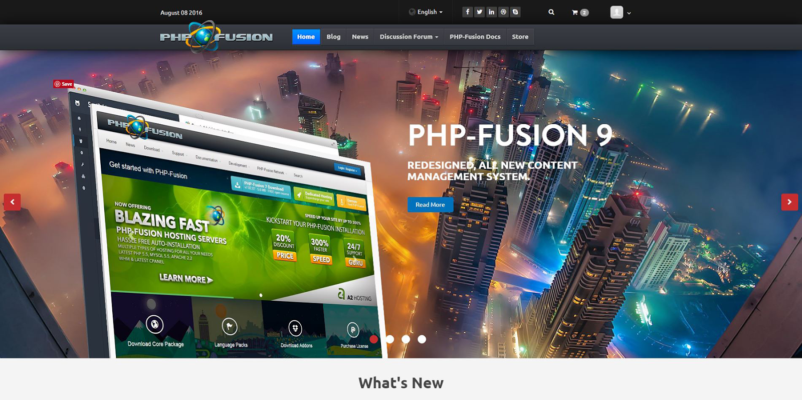 Phpfusion forum scripti kurulumu