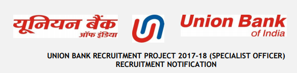 Union Bank of India Released a Notification For Requirement Of Specialist Officer