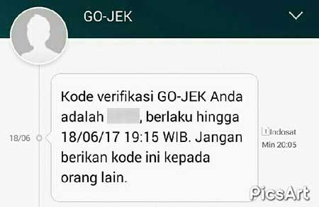 Hati-hati Penipuan Kode Verifikasi Go-Jek
