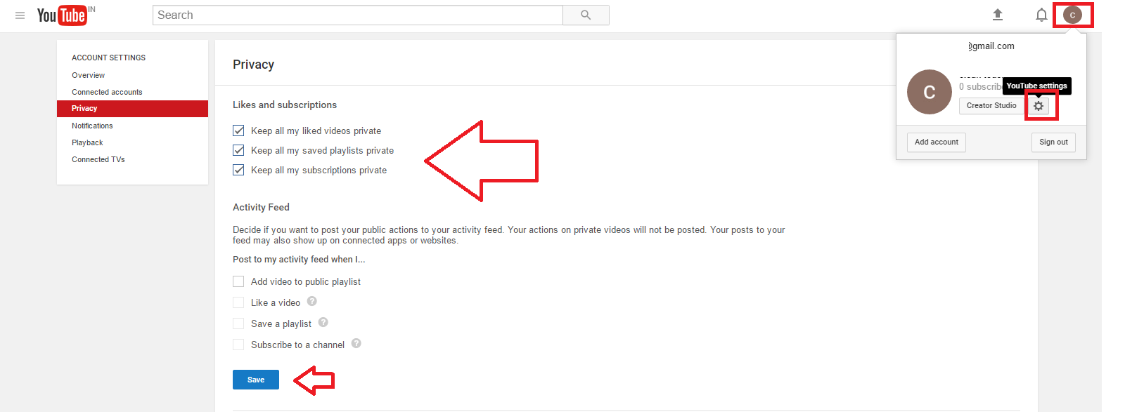 youtube my playlist history