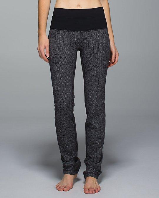 lululemon straight up pant herringbone